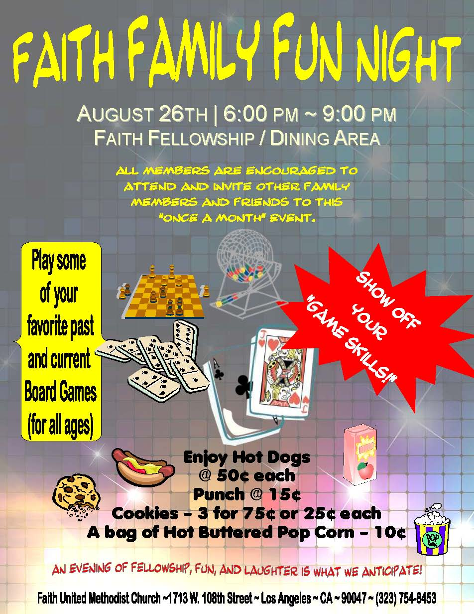 FaithFamilyFunNight